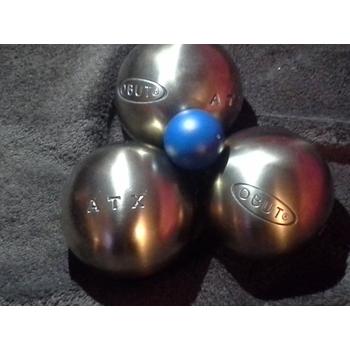 Comparatif de boules obut for Prix boules de petanque