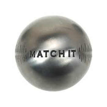 Boule de pétanque Obut MATCH IT Inox